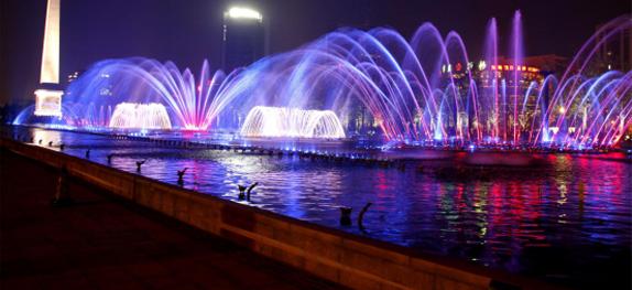 水景艺术与亚博体育官网下载地址技术的天作之合